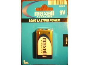 Maxell pile 9Volts Alkaline type 6LR61