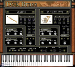 DSK Music DSK Brass [Freeware]