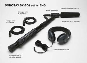 Sonosax SX-BD1 set for ENG