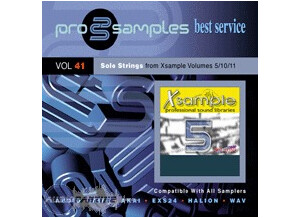 ProSamples Vol 41 Solo Strings