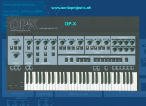 SonicProjects OP-X