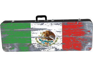 Kaces GRAFIX Mexican Flag Electric Guitar Case