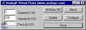 AnalogX VPiano [Freeware]
