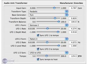 Sinevibes Transformer