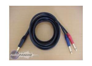 Schulz Kabel Cable Jack Stéréo / 2x Jack Mono - 3 Mètres