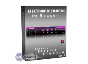Meyer Musicmedia Electronic Sounds for Reason Electro V.1