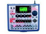 SP-505 avec carte mémoire 128MO et mod+footswitch pour changement de patterns / songs
