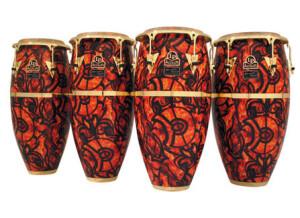 Latin Percussion congas accent signature armando peraza