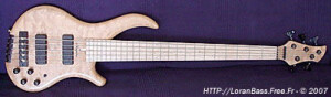 Noguera Expression Plus Custom Quilted Maple