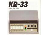 Korg KR-33 / Rhythm 33