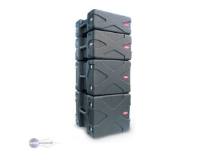 SKB Space Roto Rack 6U