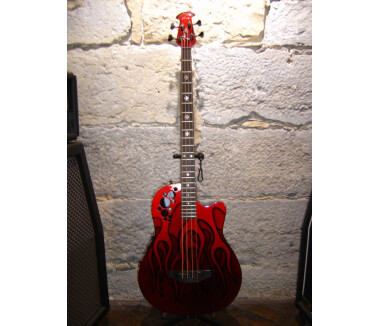 Ovation Elite Nikki Sixx Signature Bass