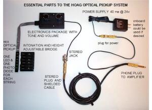Hoag Guitars Optical Pickup Packages