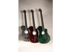Emerald Guitars X5 Life travel guitar