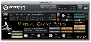 Art Vista Virtual Grand Piano