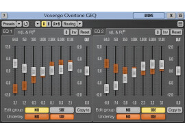 The Voxengo SPAN and Overtone plug-ins in VST 3