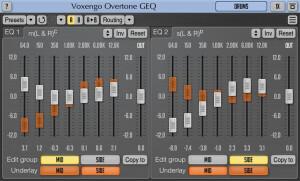 Voxengo Overtone GEQ [Freeware]