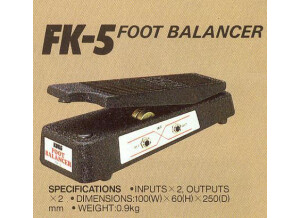 Korg FK-5 foot balancer
