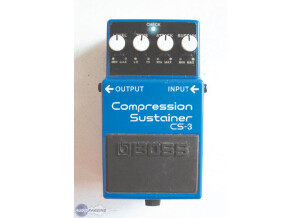 Boss CS-3 Compression Sustainer - Modded by Monte Allums