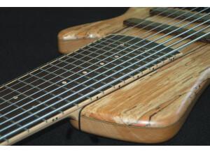 L. Kah Basses Manta 9 cordes Multiscale frettée