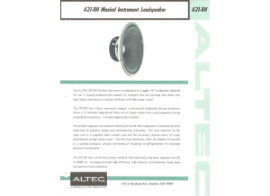 Altec Lansing 421 - 8H