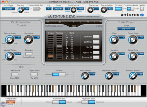 Antares Audio Technology Auto-Tune Evo