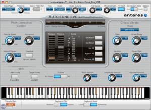 Antares Audio Technology Auto-Tune Evo