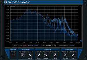 Blue Cat Audio Blue Cat's FreqAnalyst [Freeware]