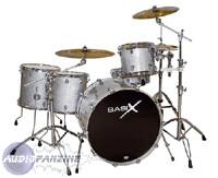 "Basix Custom vintage rock ""Silver Sparkle"""