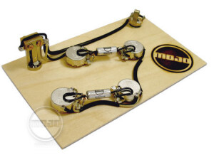 Majo Musical Supplies ES-335/3-way Prewired Boutique Assembly
