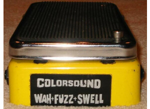 ColorSound wah-fuzz-swell