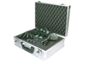 AKG Drum set standard (D112 + 4 C418)