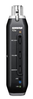 Convertisseur XLR USB pour micro chez Shure