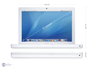 Apple MacBook Core 2 Duo 2 GHz 2Go RAM 80Go HDD