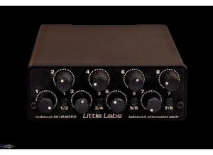 Little Labs Redcloud 8810U8ERS Balanced Attenuator Pack
