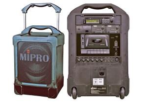 MIPRO MA 707 PACD MP3