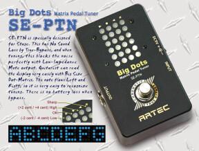 Artec SE-PTN Big Dots Matrix Pedal Tuner