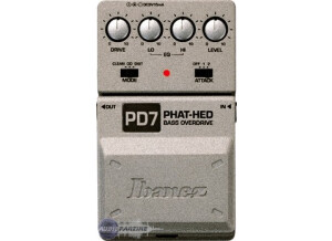 Ibanez PD7 Phat-Hed Bass Overdrive