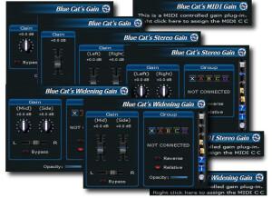 Blue Cat Audio Blue Cat's Gain Suite [freeware]