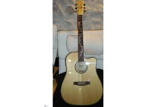WSL Guitars maple electro acoustique