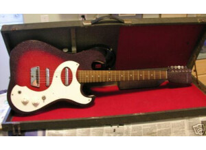 Silvertone 1457 - AMP IN CASE - 1964