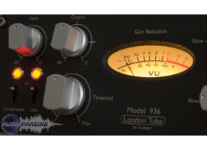 Audient The Model 936 Variable Mu Compressor