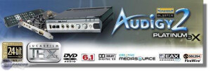 Creative Labs Sound Blaster Audigy 2 Platinum EX