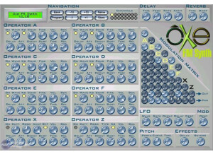 Oxe Music Software Oxe FM Synth [Freeware]