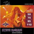 Rotosound améliore les cordes basse Steve Harris