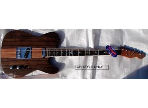 Raven West Guitar 570T-KD