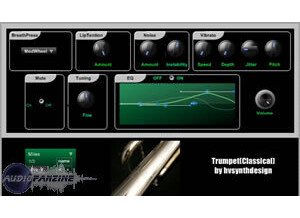 HV Synth Design Acoustic Modeled TrumpetCollection