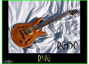 Raven West Guitar RG 450 Amber Quilt