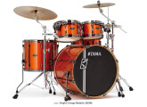 "Batterie TAMA Superstar HYPER-DRIVE 22""/6 fûts BRUSHED BLACK"