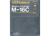 Roland M-16C memory card